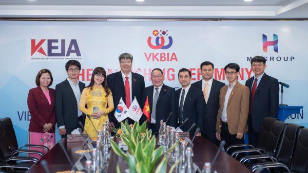 VKBIA ra mắt hội chuyên gia trí thức Việt Nam – Hàn Quốc và ký kết hợp tác toàn diện với BVSC