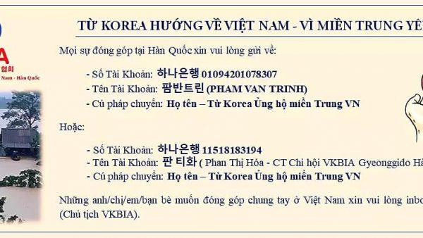 TỪ KOREA HƯỚNG VỀ MIỀN TRUNG VIỆT NAM!!!