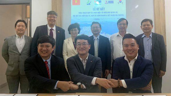 VKBIA ký kết thỏa thuận hợp tác quảng bá, thu hút xúc tiến đầu tư toàn diện với tỉnh Bình Định